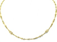 Judith Ripka 18kt Diamond Chain Necklace